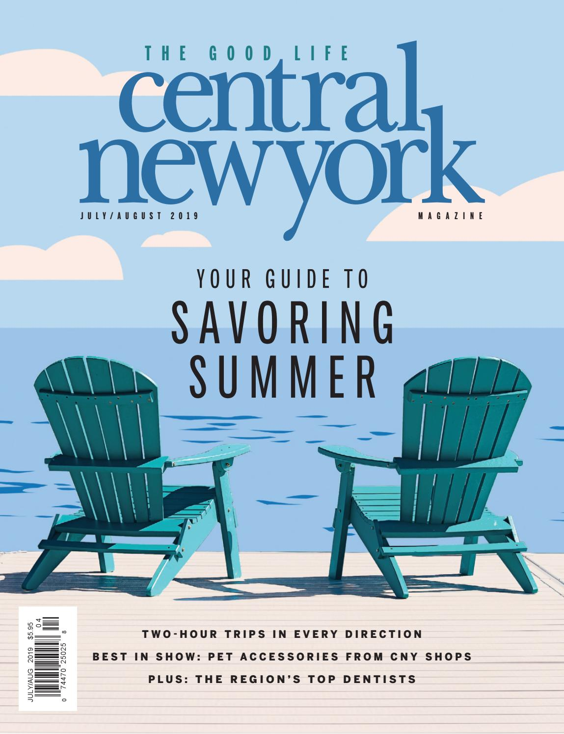 central new york magazine july august
