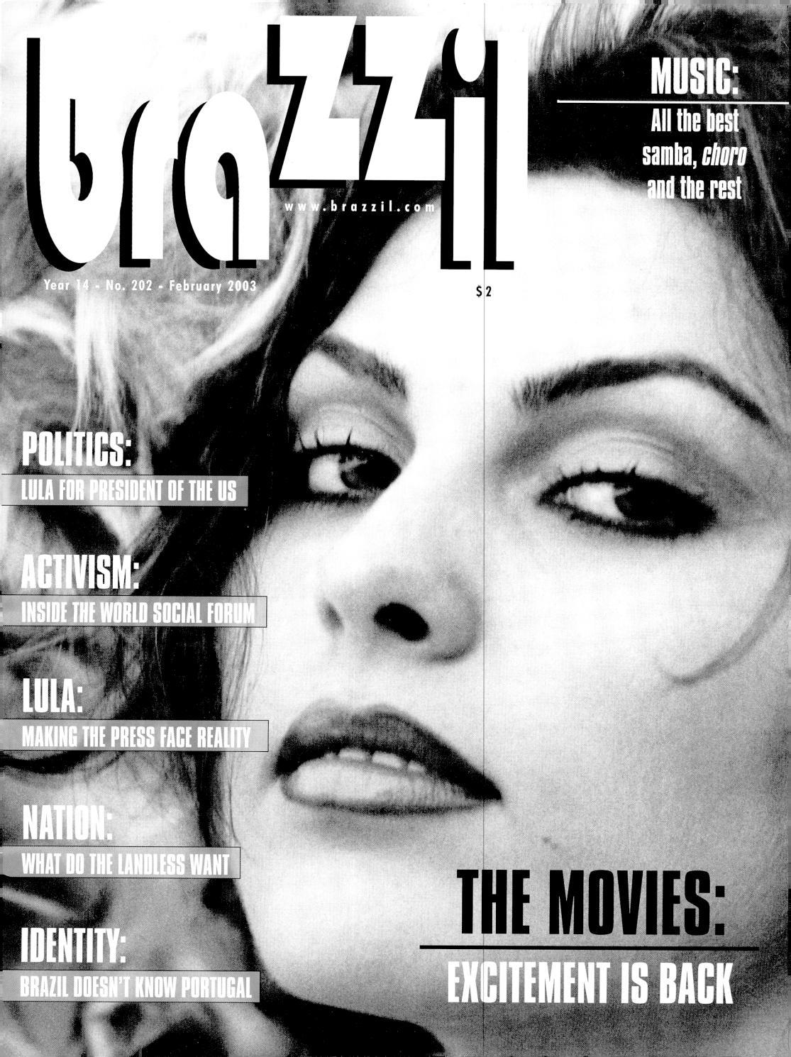 february 2003 by brazzil magazine