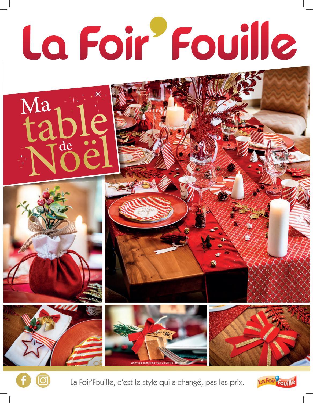 La Foir Fouille Table De Noel By Foirfouille Issuu