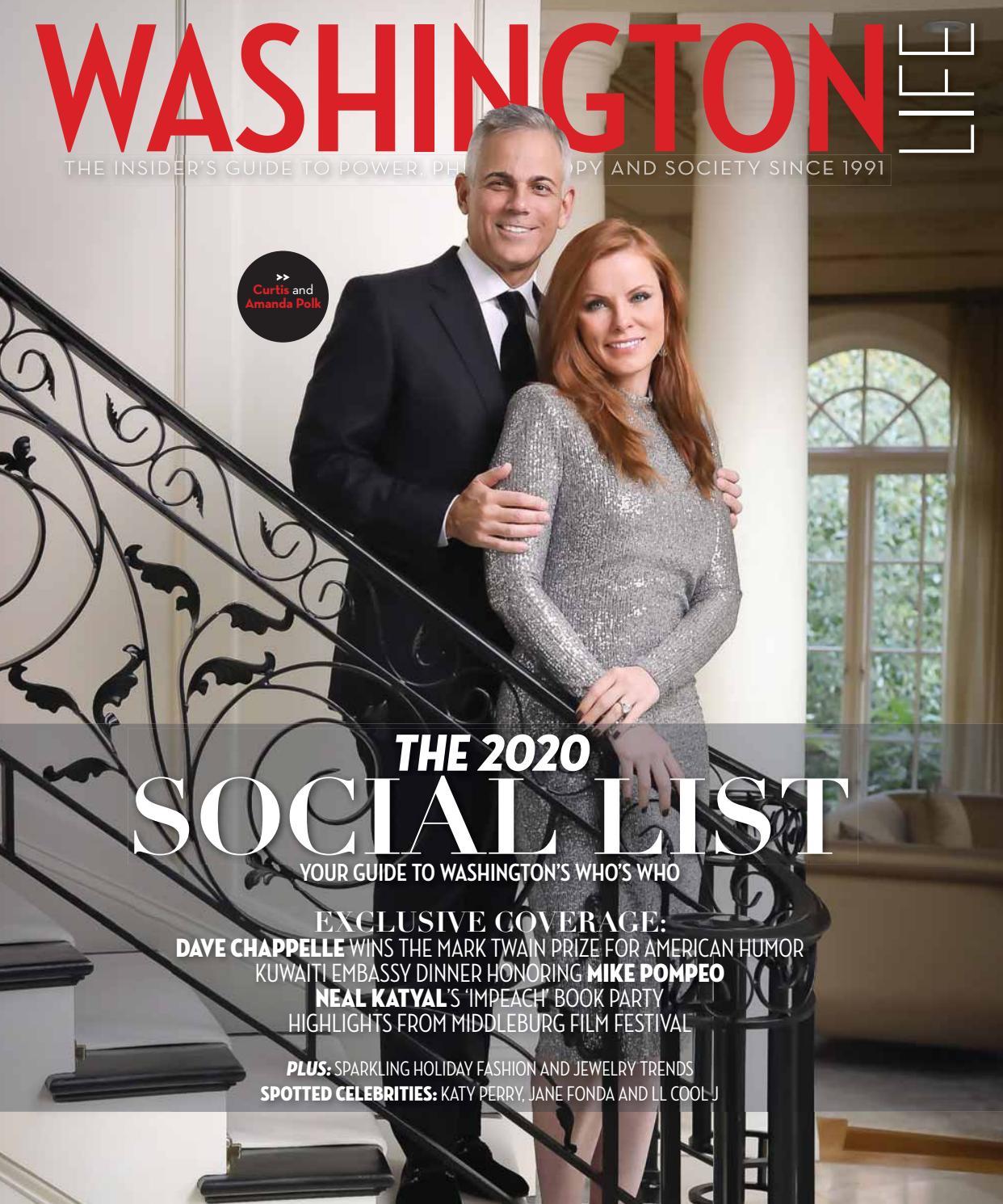 Washington Life Magazine Holiday 2019 By Washington Life Magazine Issuu