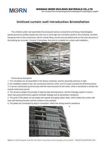 unitised curtain wall introduction