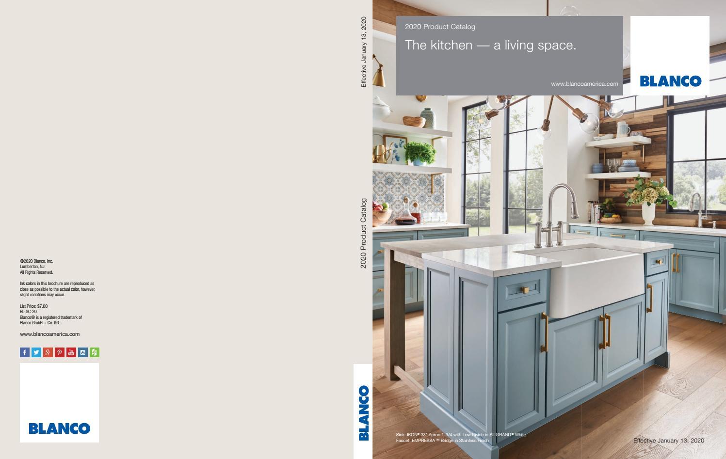 blanco 2020 showroom catalog by blanco