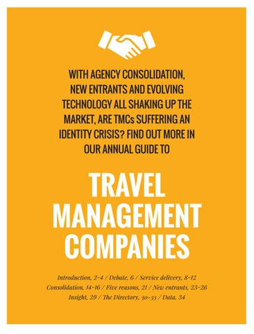 Travel Management Companies Guide 2020 By Bmi Publishing Ltd