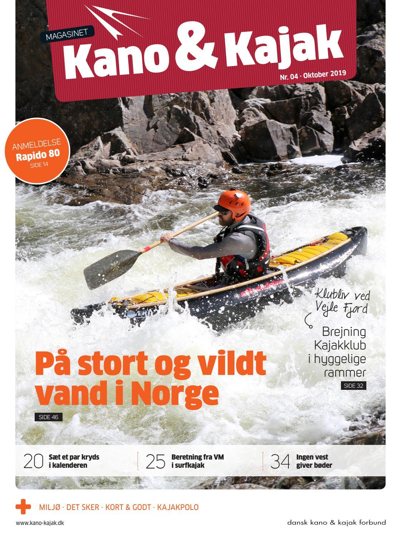Kano Kajak 4 2019 By Dansk Kano Og Kajak Forbund Issuu