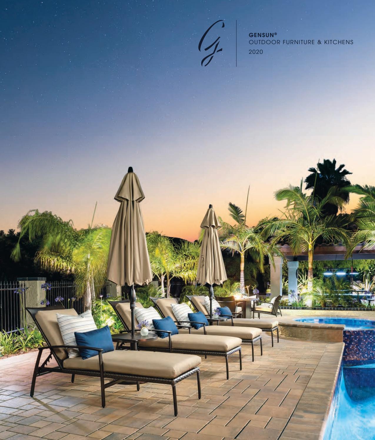 2020 gensun casual outdoor furniture