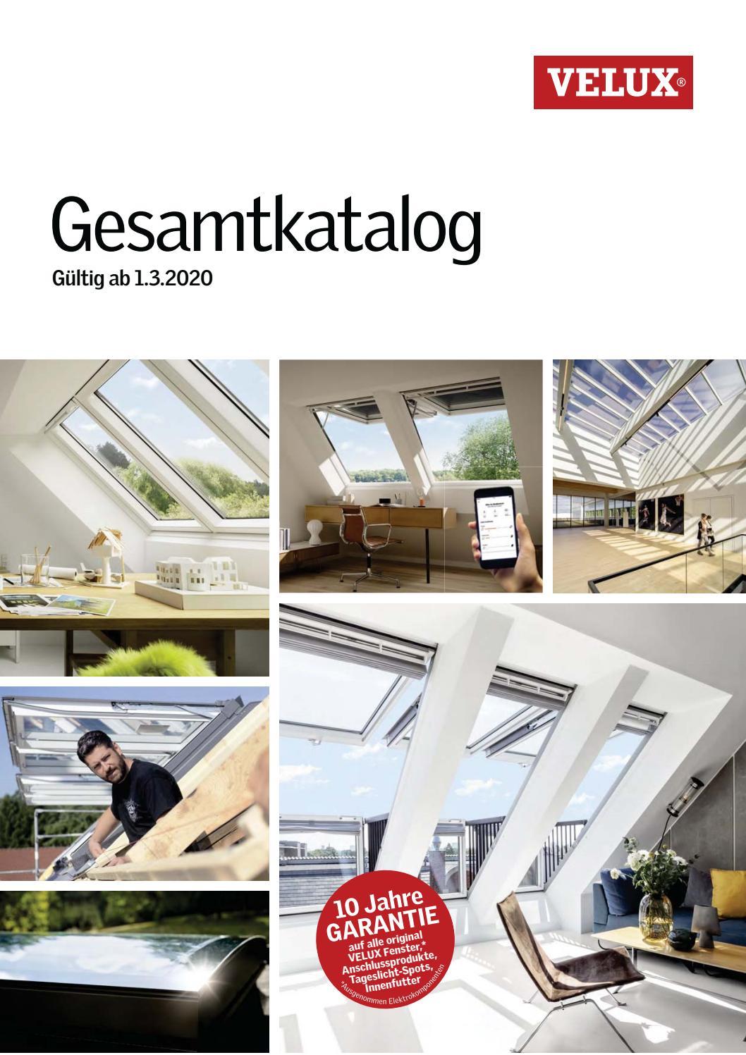 velux gesamtkatalog 2020 by holzland