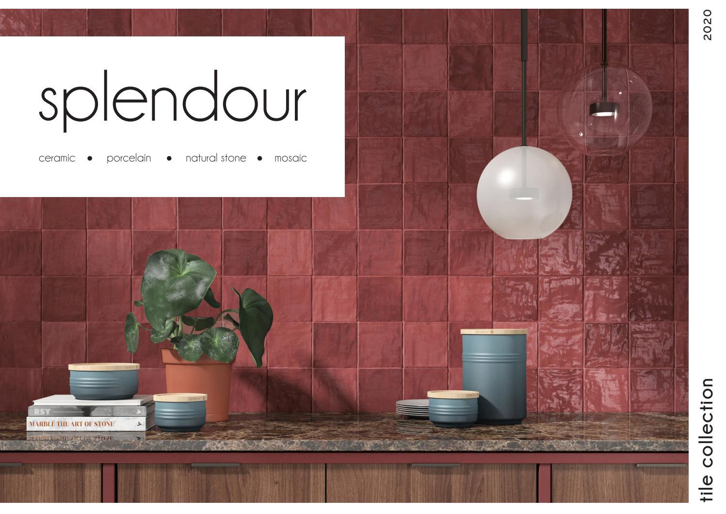 splendour brochure by tile studio issuu