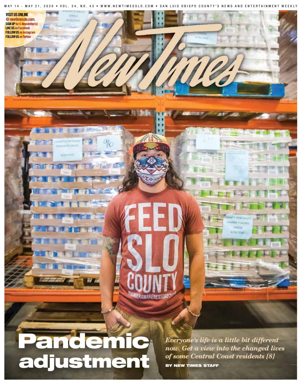 New Times May 14 2020 By New Times San Luis Obispo Issuu