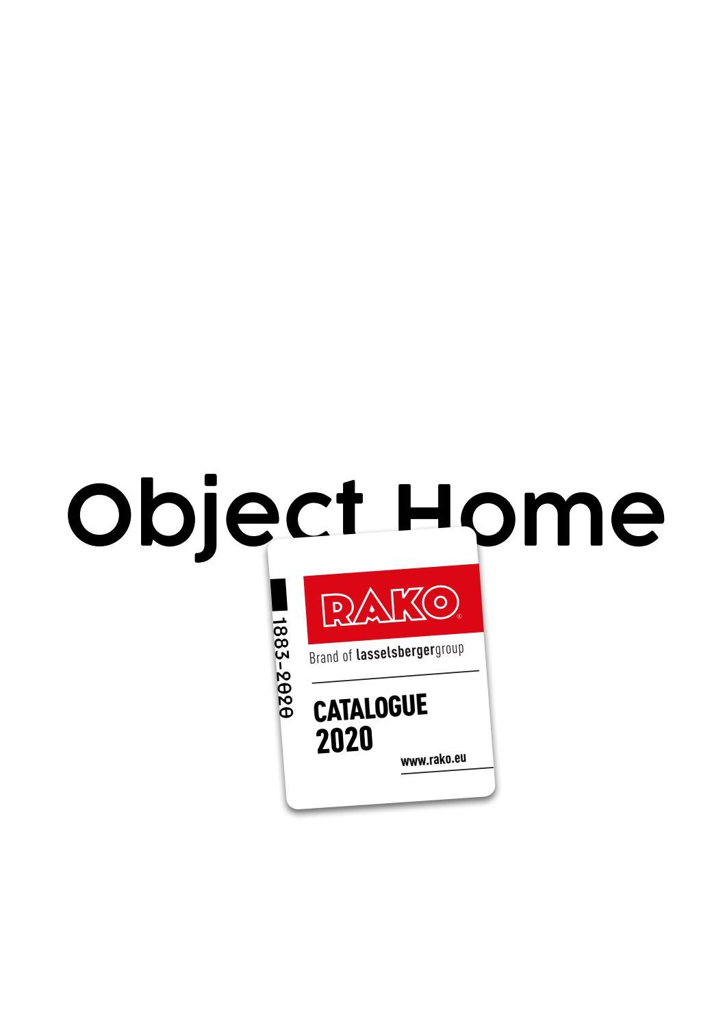 catalogue rako object home 2020 by rako