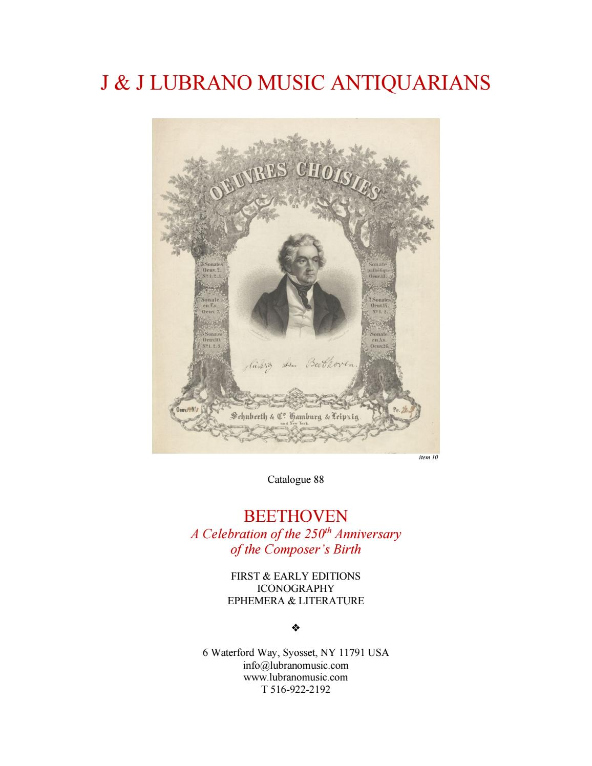 Beethoven A Celebration Of The 250th Anniversary Of The