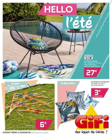 Gifi France Catalogue 1 By Hmbe Catalogue Network Issuu