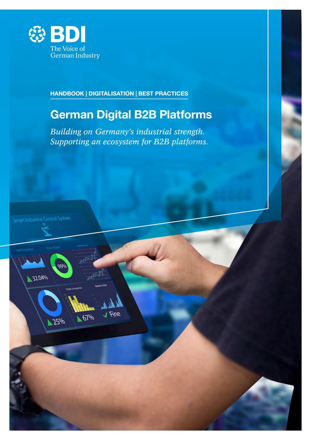 german digital b2b platforms by