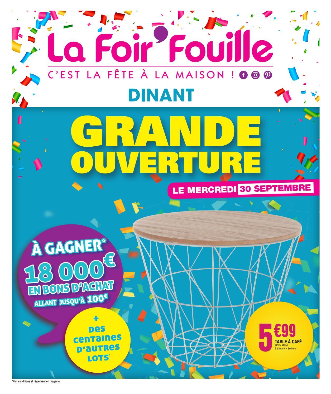 Catalogue Ouverture Dinant By La Foir Fouille Issuu
