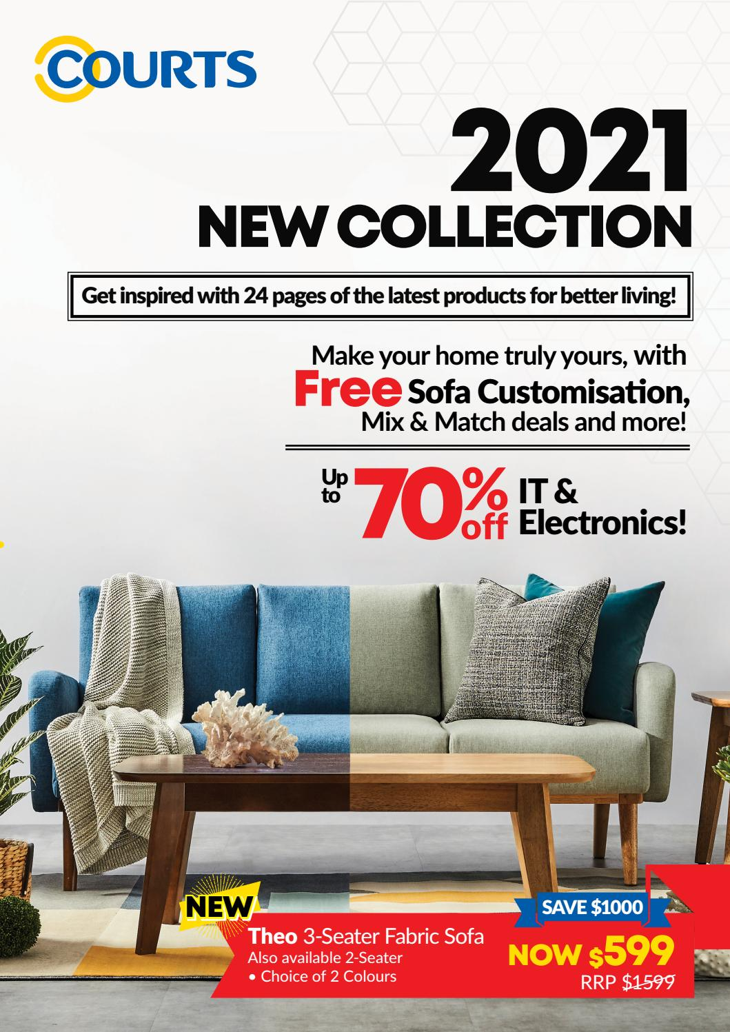 courts 2021 new collection catalogue by