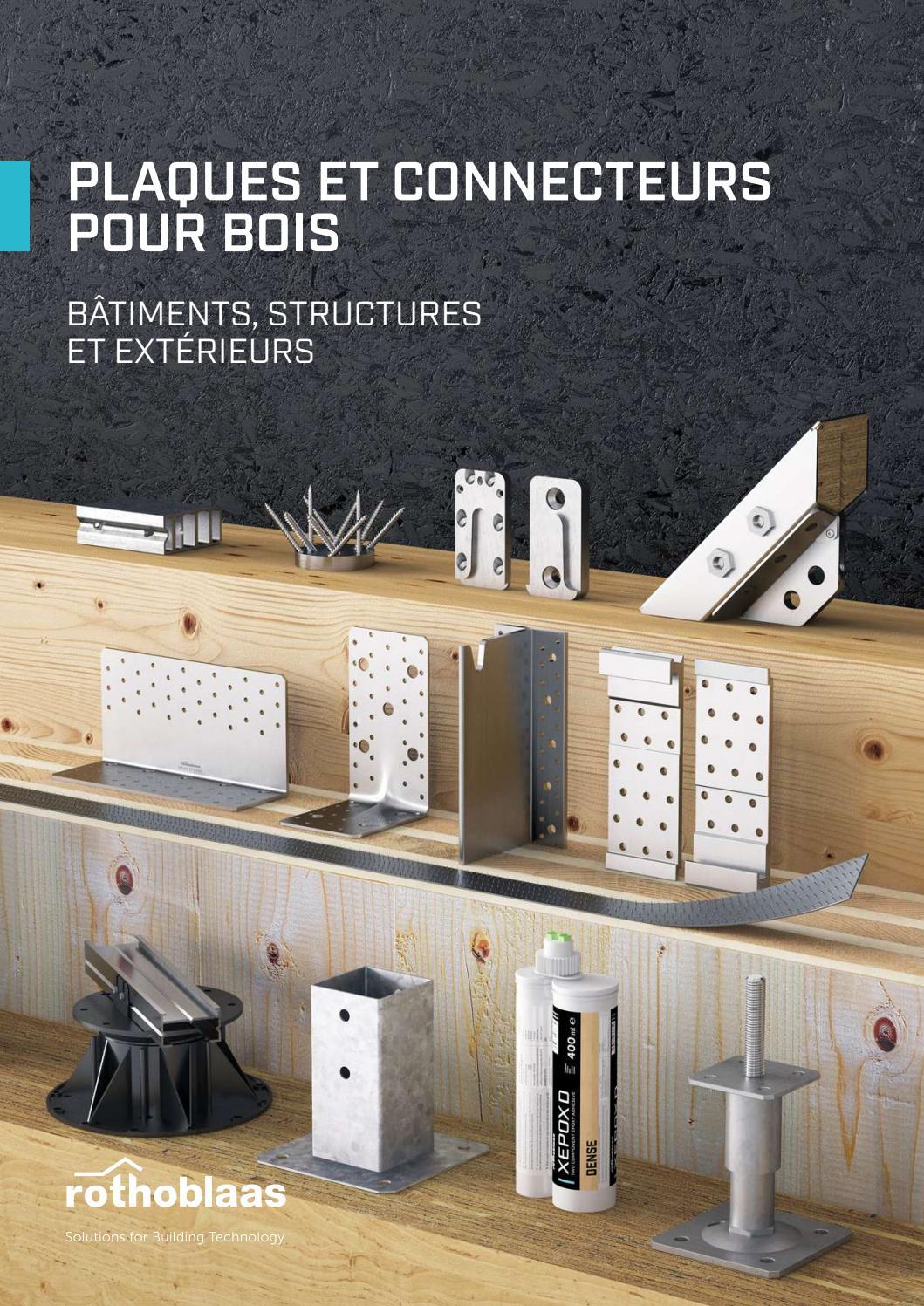 connecteurs pour bois by rothoblaas