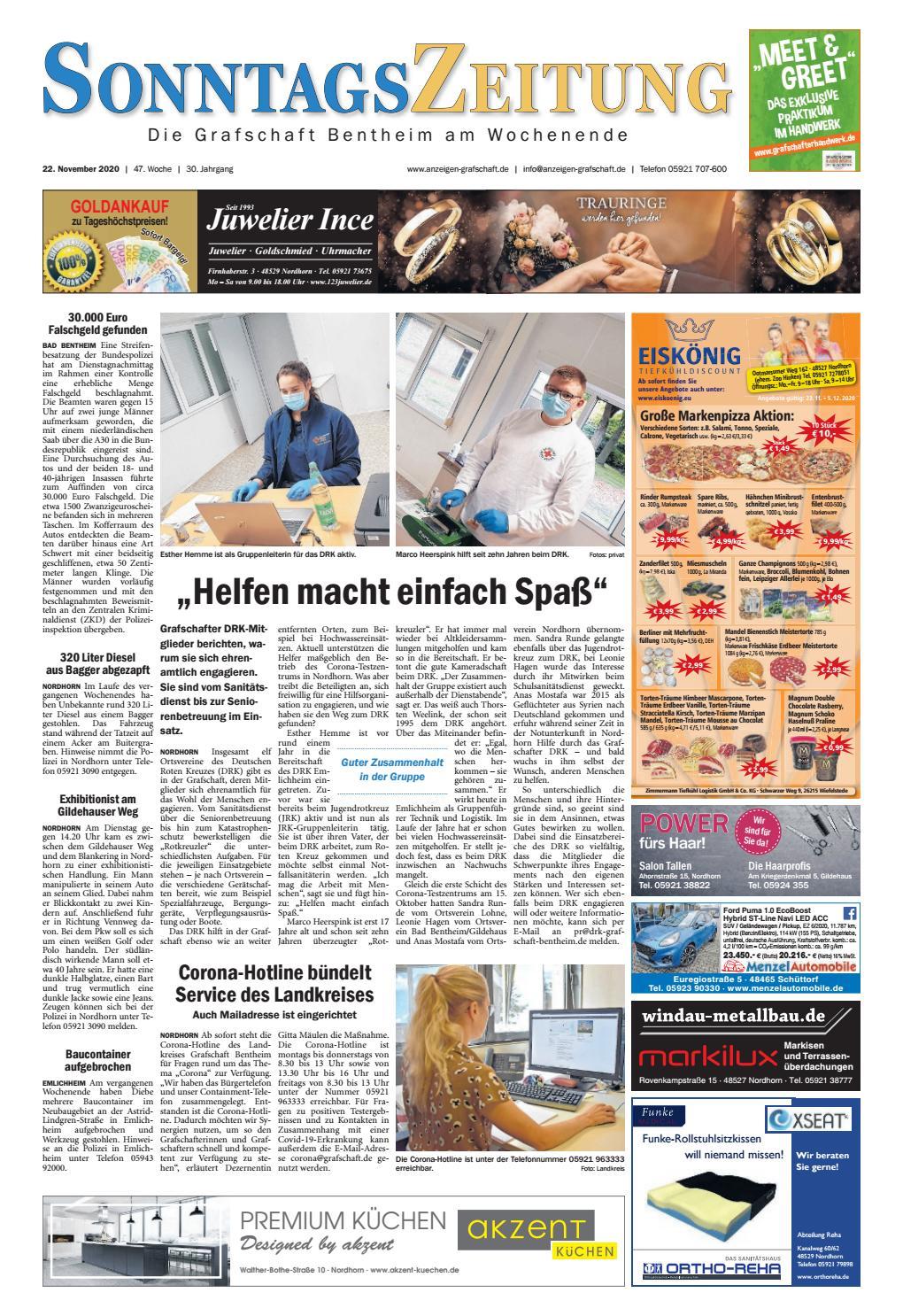sonntagszeitung 2020 11 22 by