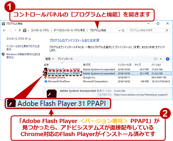 Google ChromeでFlash Playerを更新する:Google Chrome完全ガイド - @IT