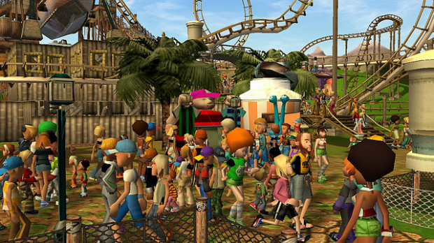 Vente Flash Roller Coaster Tycoon 3 Platinum Edition