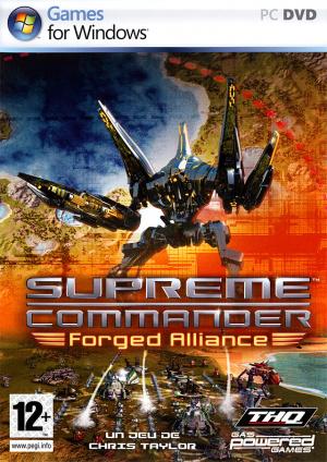 Supreme Commander Forged Alliance Sur PC