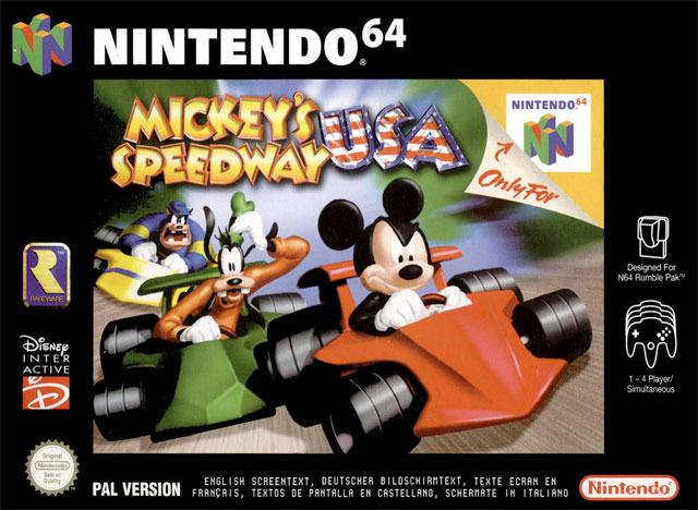 Mickey Speedway USA Sur Nintendo 64