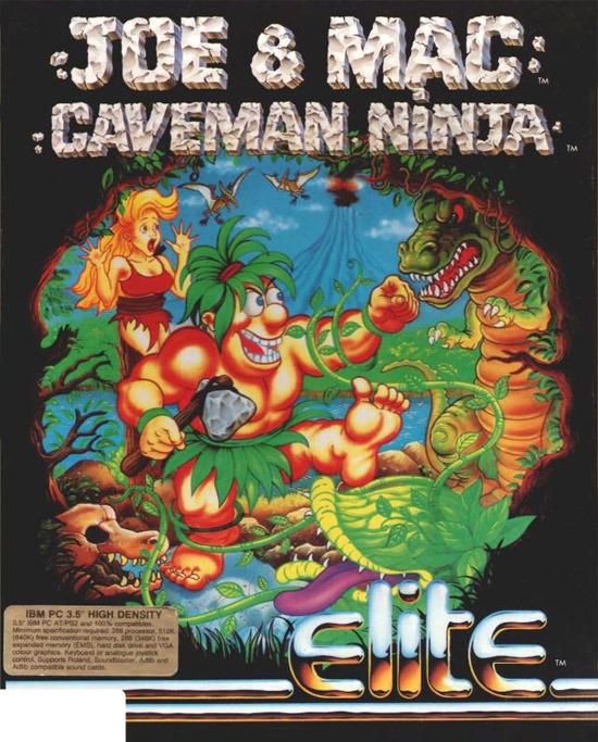 Joe Amp Mac Caveman Ninja Sur PC