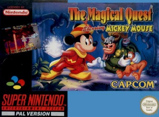 The Magical Quest Starring Mickey Mouse Sur Super Nintendo