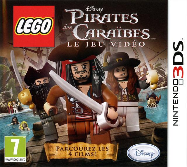 LEGO Pirates Des Carabes Le Jeu Vido Sur Nintendo 3DS