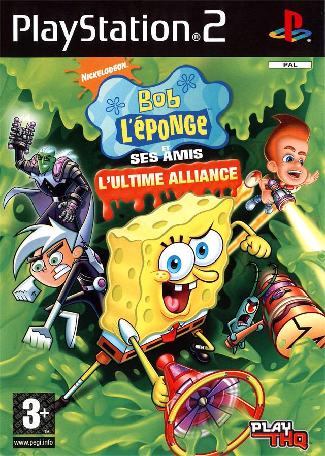 Bob LEponge Et Ses Amis LUltime Alliance Sur PlayStation 2