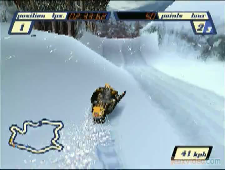 Gameplay Sled Storm La Montagne A Vous Gagne