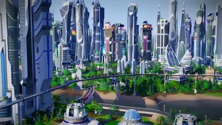 Bande Annonce SimCity Villes De Demain 50 Ans Dans Le