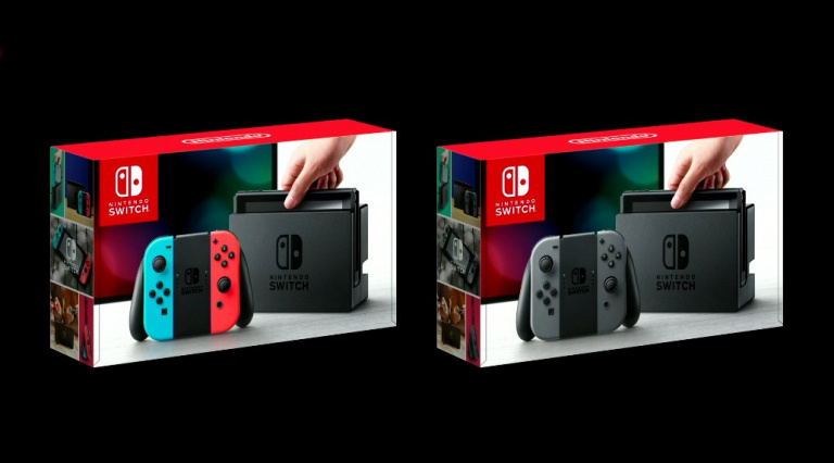 Nintendo Switch : deux packs au lancement
