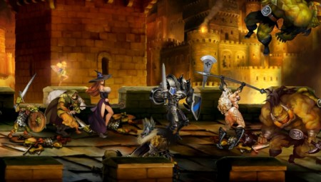 Dragon's Crown en multi 4 joueurs