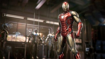 Marvel's Avengers X MCU : Tony Stark enfile son armure chromée du MCU