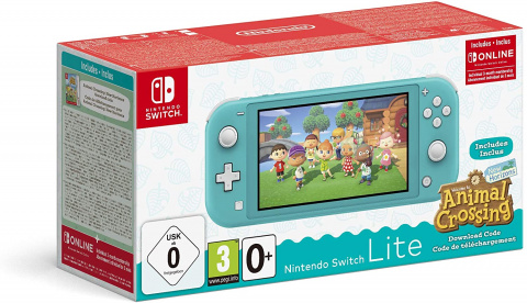 Nintendo запускает набор Switch Lite с Animal Crossing New Horizons