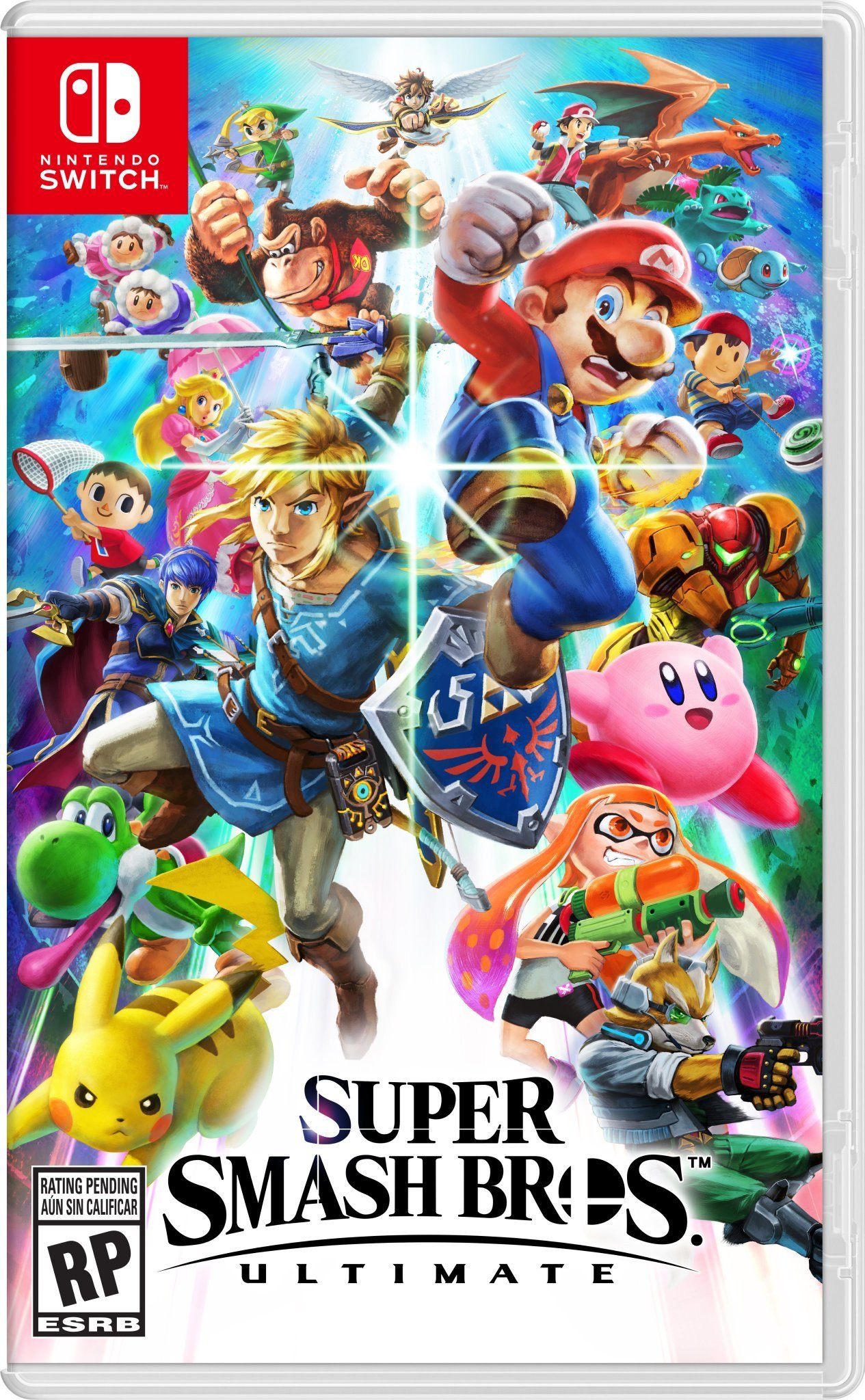 Super Smash Bros Ultimate Sur Nintendo Switch