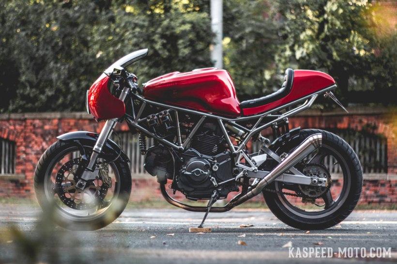 Ducati 750 Ss Modern Cafe Racer Build Story Kasd Custom Kawasaki Kz650