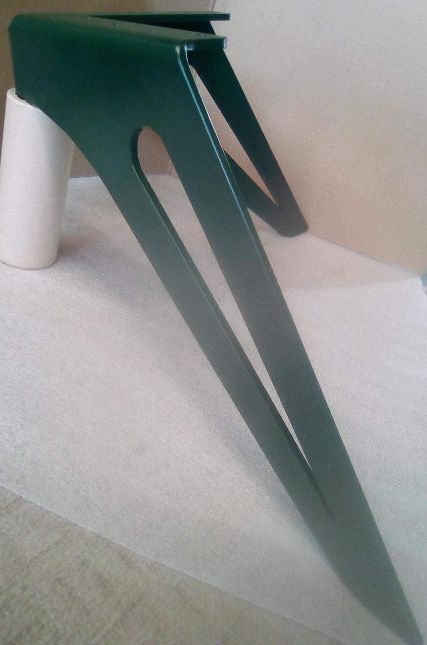 pied de table basse en metal 100 made in france