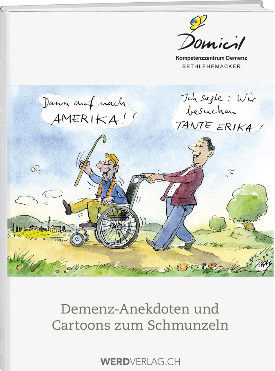 Edgar Studer Demenz Anekdoten Und Cartoons Zum Schmunzeln Werd