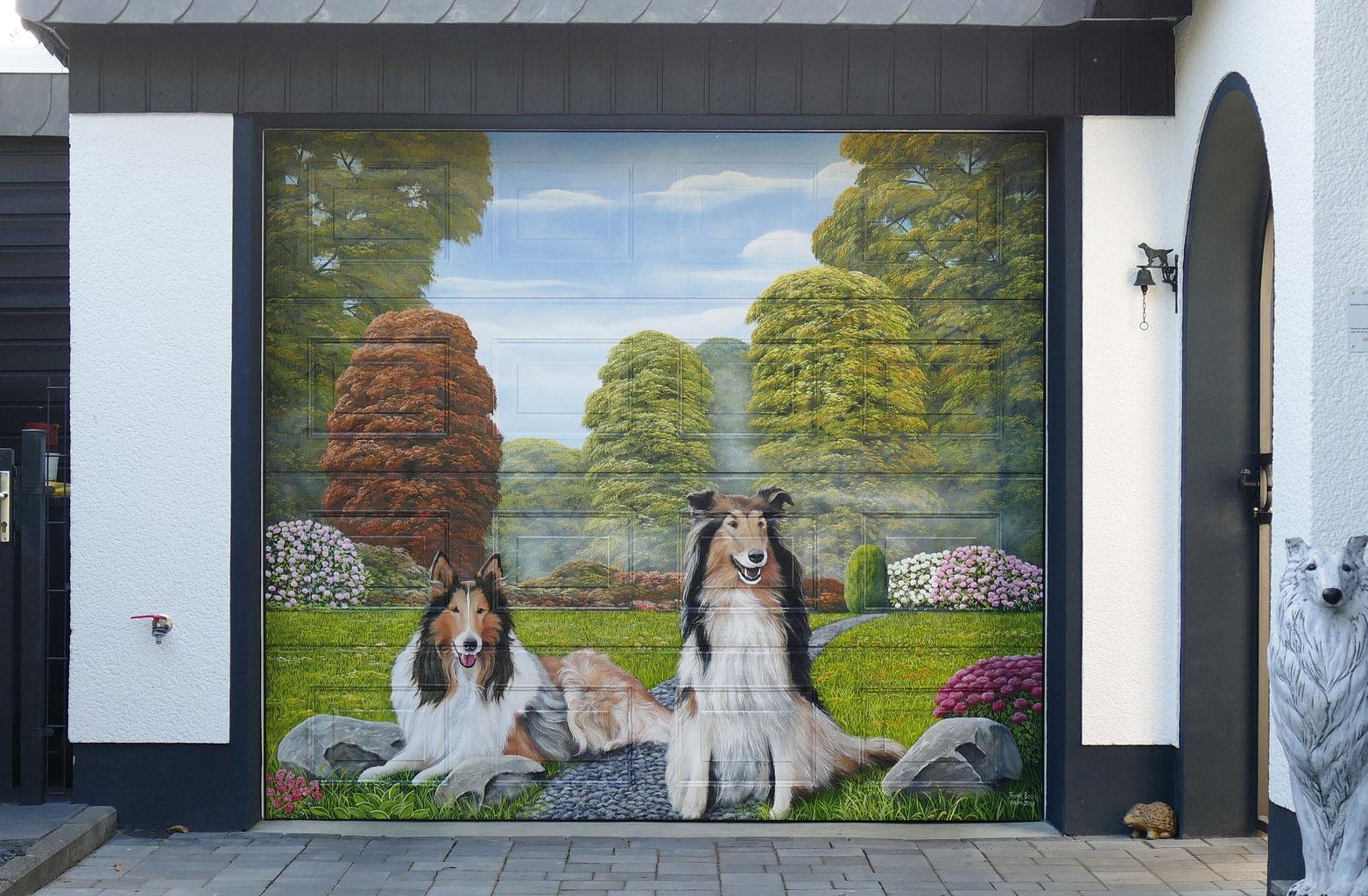 Profis Fur Garagentor Graffiti Und Andere Wandbilder