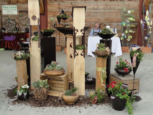 Holzgeschichten - Franz&Karin: Individuelle Gartendeko und