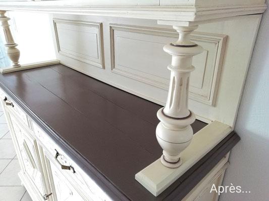 peinture et patine sur meubles