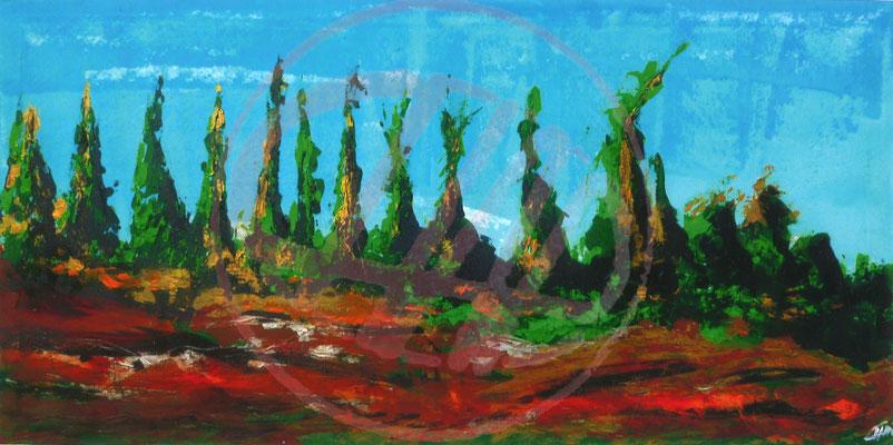 Acrylmalerei Abstract Acrylic Painting Demo Abstraktes Bild Malen