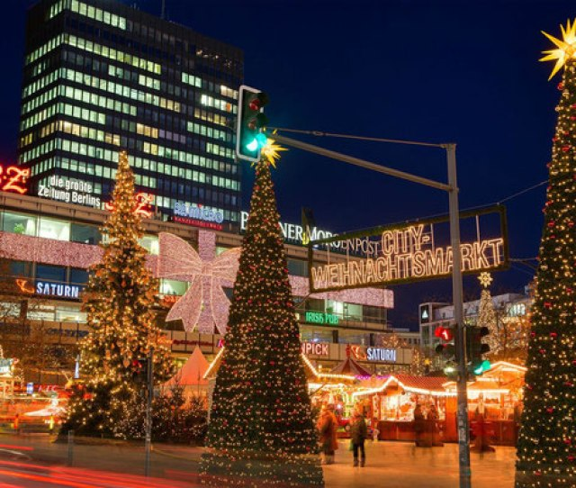 Berlin Christmas City Break Copyright Visitberlin European Best Destinations