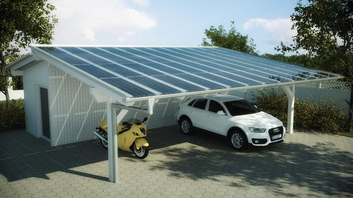 Pultdach Galerie Solarterrassen Amp Carportwerk GmbH