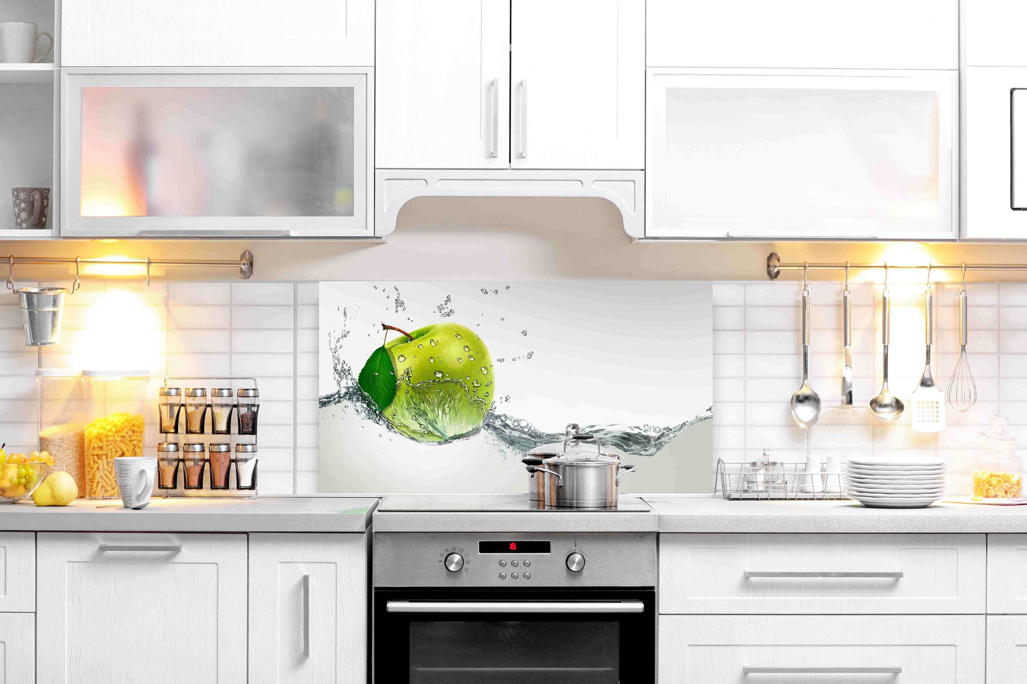 Kuche Glaswand Motive Moderne Glas Kuchenruckwand Designs Bieten