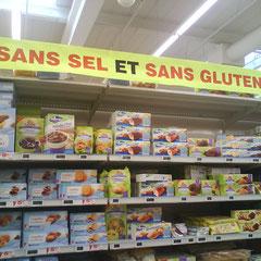 distributeurs de produits sans gluten