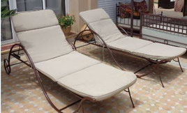 mobilier de jardin transat
