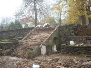 Alte Mauern und Treppen - gutshof-lausnitz.de