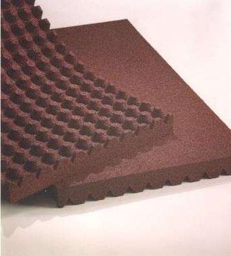caoutchouc permeables pour boxes