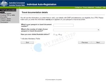 ATO - Individual Auto-Registration 3